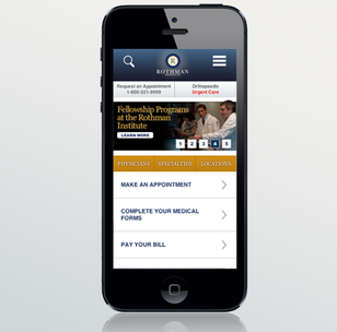 Rothman Institute Partners with Lyquix on Full-service Mobile Website