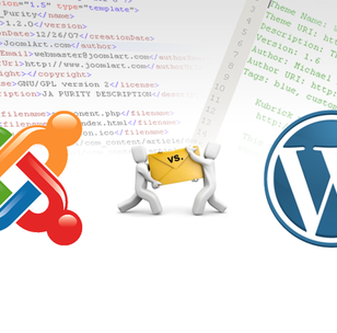 Joomla vs. WordPress - where do I start?